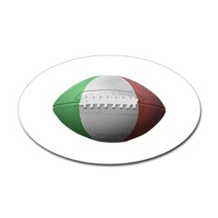 Italian Football Oval Decal