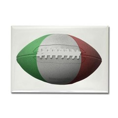 Italian Football Rectangle Magnet