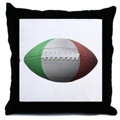 Italian Football Throw Pillow
