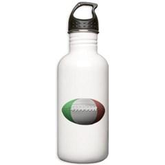 Italian Football Water Bottle