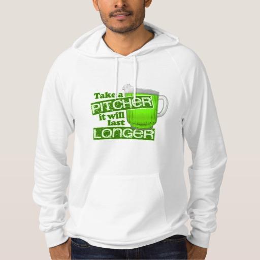 Take a Pitcher It will last Longer American Apparel California Fleece Pullover Hoodie