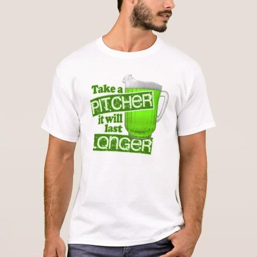 Take a Pitcher It will last Longer Basic T-Shirt