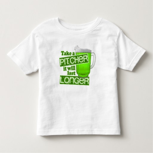 Take a Pitcher It will last Longer Toddler Fine Jersey T-Shirt
