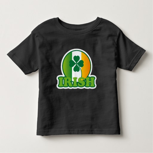 Circle Irish Flag Toddler Fine Jersey T-Shirt