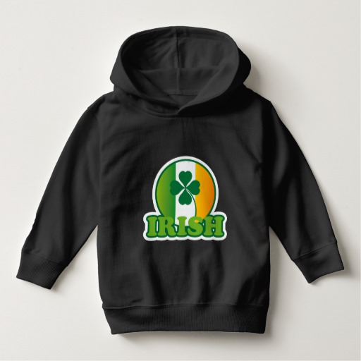 Circle Irish Flag Toddler Pullover Hoodie