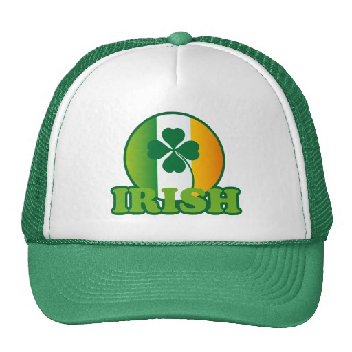 Circle Irish Flag Trucker Hat