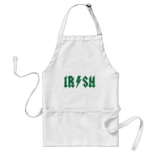 IRISH ADULT APRON