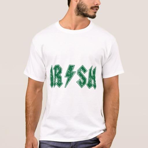 Irish Lightning Bolt Basic T-Shirt