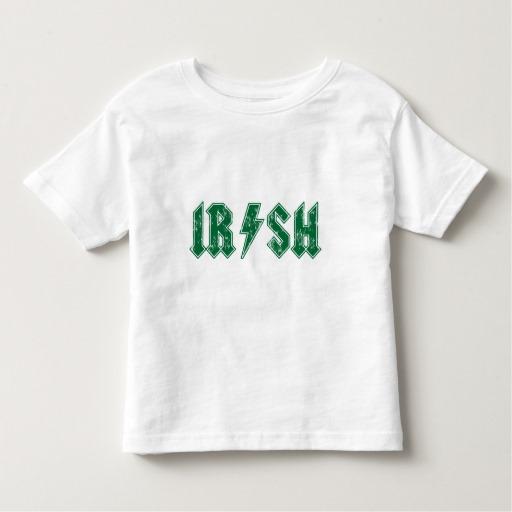 Irish Lightning Bolt Toddler Fine Jersey T-Shirt