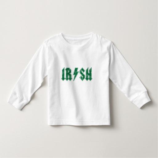 Irish Lightning Bolt Toddler Long Sleeve T-Shirt