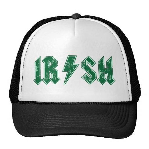 Irish Lightning Bolt Trucker Hat