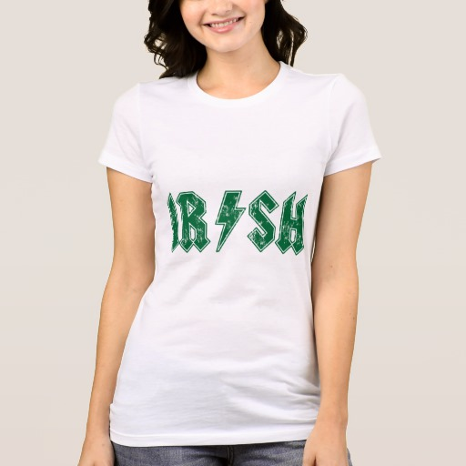Irish Lightning Bolt Women's Bella+Canvas Favorite Jersey T-Shirt