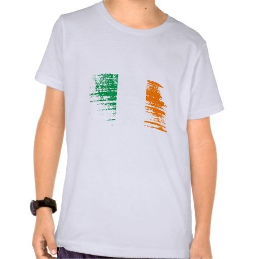 Graffiti Flag of Ireland Kids' Basic American Apparel T-Shirt