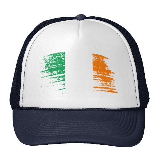 Graffiti Flag of Ireland Trucker Hat
