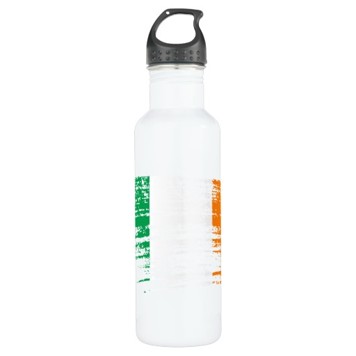 Graffiti Flag of Ireland Water Bottle