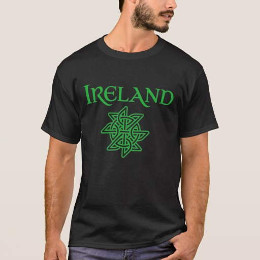Ireland Celtic Knot Basic Dark T-Shirt