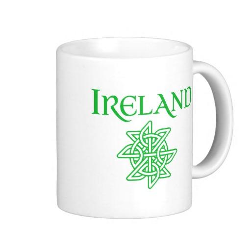 Ireland Celtic Knot Classic White Mug