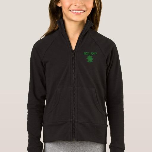 Ireland Celtic Knot Girls' Boxercraft Practice Jacket