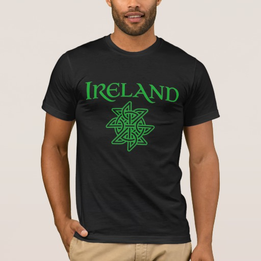 Ireland Celtic Knot Men's Basic American Apparel T-Shirt