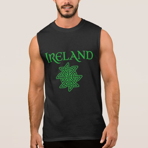Ireland Celtic Knot Men's Ultra Cotton Sleeveless T-Shirt