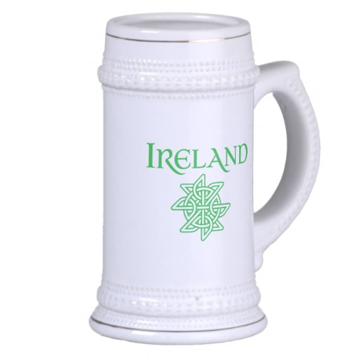 Ireland Celtic Knot Stein