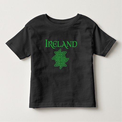 Ireland Celtic Knot Toddler Fine Jersey T-Shirt