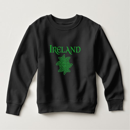 Ireland Celtic Knot Toddler Fleece Sweatshirt