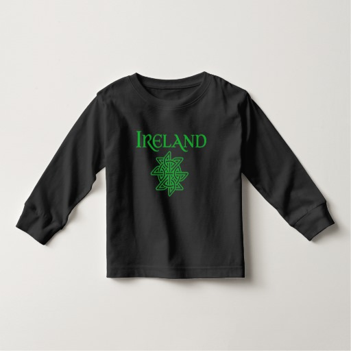 Ireland Celtic Knot Toddler Long Sleeve T-Shirt