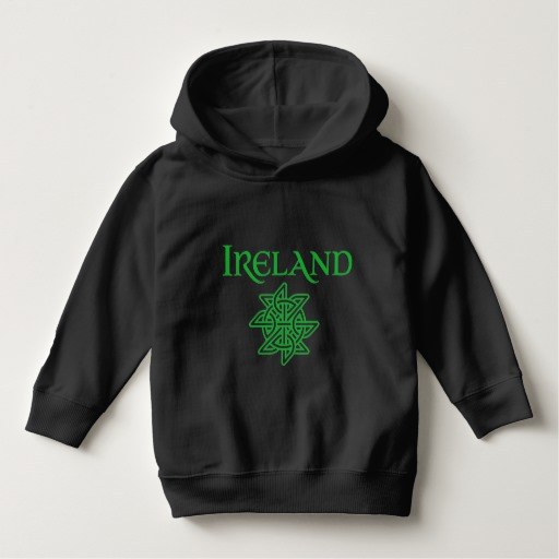 Ireland Celtic Knot Toddler Pullover Hoodie