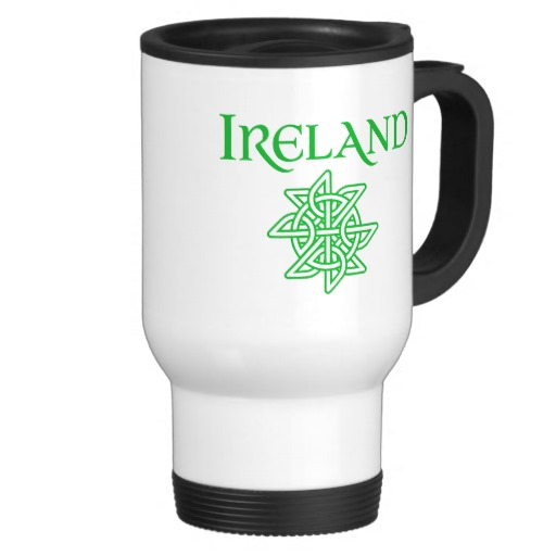 Ireland Celtic Knot Travel/Commuter Mug