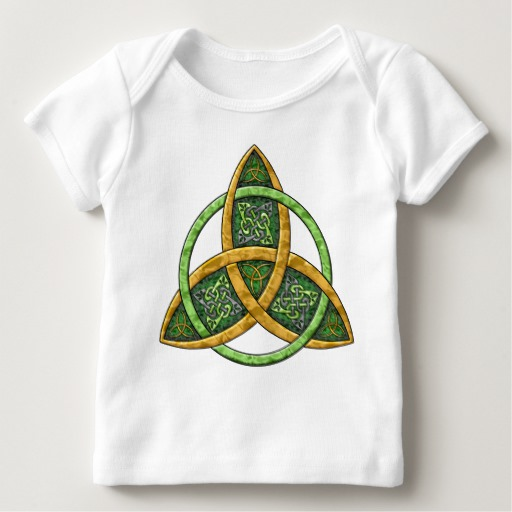 Celtic Trinity Knot Baby American Apparel Lap T-Shirt