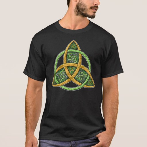 Celtic Trinity Knot Basic Dark T-Shirt