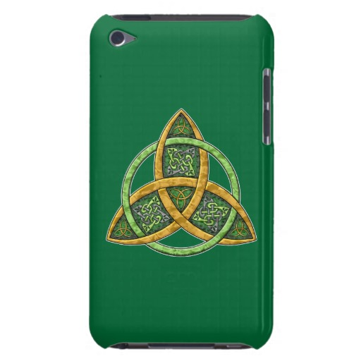Celtic Trinity Knot Case-Mate Barely There 4th Generation iPod Touch Case