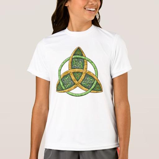Celtic Trinity Knot Girls' Sport-Tek Competitor T-Shirt