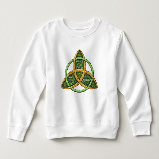 Celtic Trinity Knot Toddler Fleece Sweatshirt