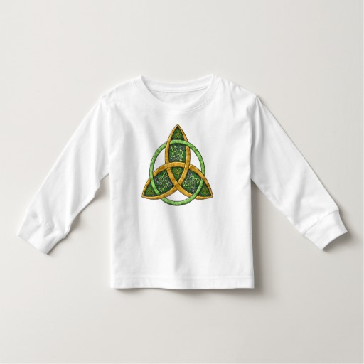 Celtic Trinity Knot Toddler Long Sleeve T-Shirt