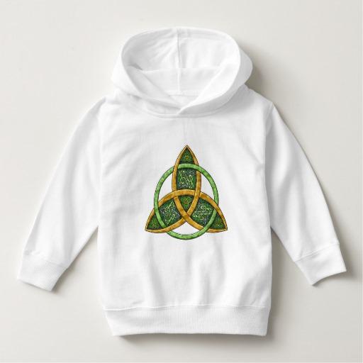 Celtic Trinity Knot Toddler Pullover Hoodie