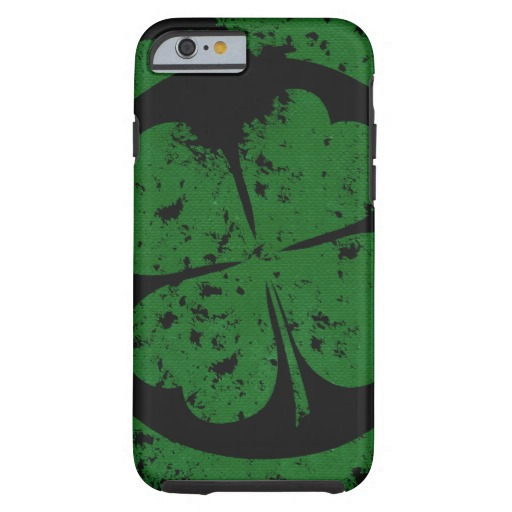 Circled 4 Leaf Clover Case-Mate Tough iPhone 6/6s Case
