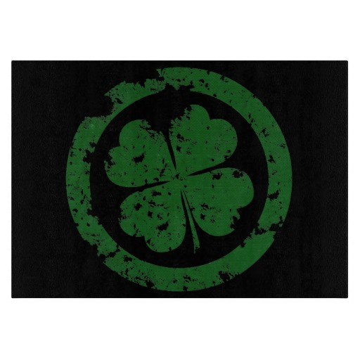 Lucky Clover Cutting Boards