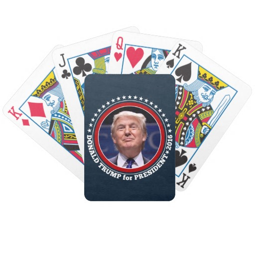 Donald Trump for President 2016 Bicycle Playing Cards