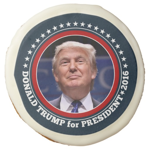 Donald Trump Photo - President 2016 Sugar Cookie