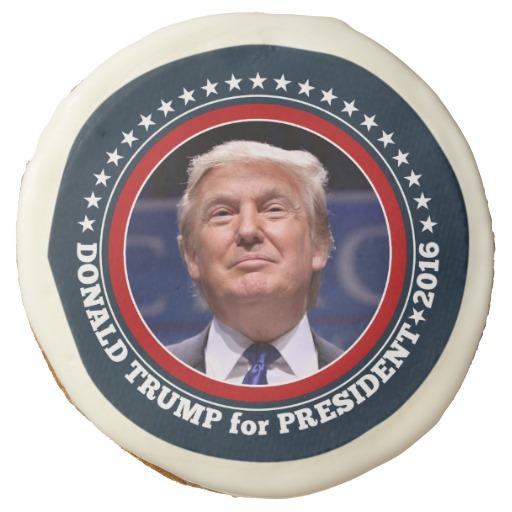 Donald Trump Photo - President 2016 Sugar Cookie