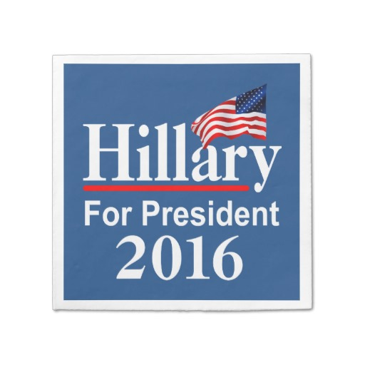 Hillary For President 2016 Standard Cocktail