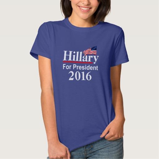 Hillary For President 2016 Women's Basic T-Shirt