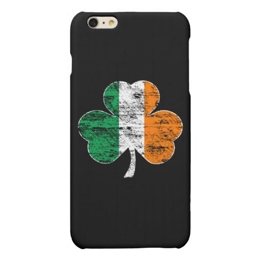 Distressed Irish Flag Shamrock Case Savvy iPhone 6/6s Plus Matte Finish Case