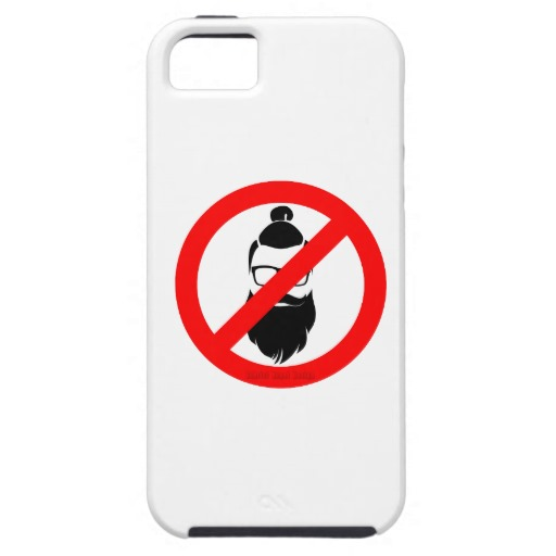 No Hipsters or Man Buns Case-Mate Tough iPhone SE + iPhone 5/5S Case