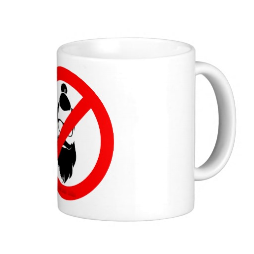 No Hipsters or Man Buns Classic White Mug