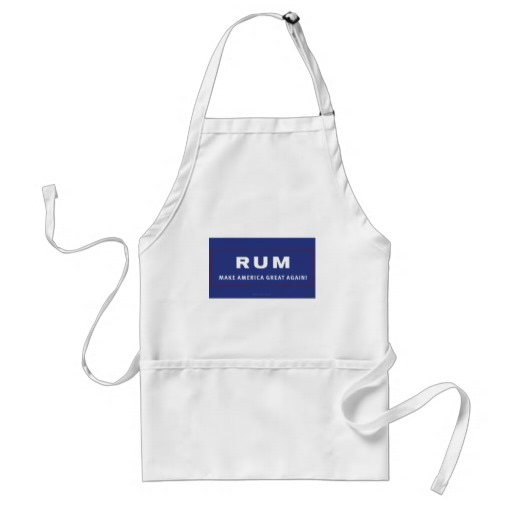 Rum Make America Great Again Adult Apron