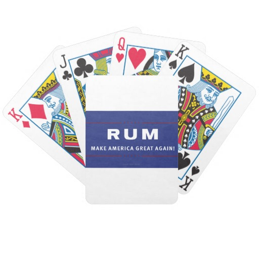 Rum Make America Great Again Bicycle Playing Cards