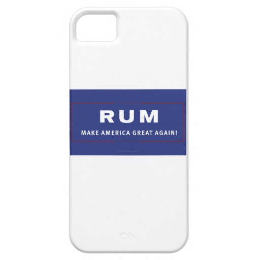 Rum Make America Great Again Case-Mate Barely There iPhone SE + iPhone 5/5S Case